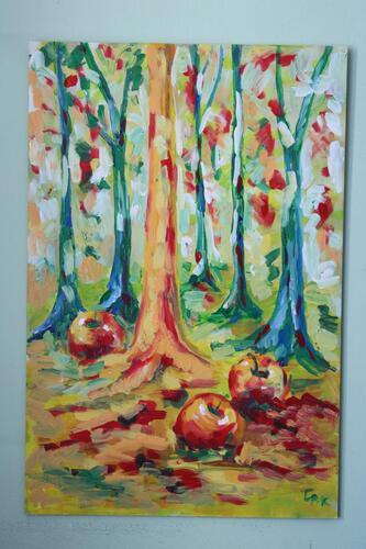 Jablka v lese