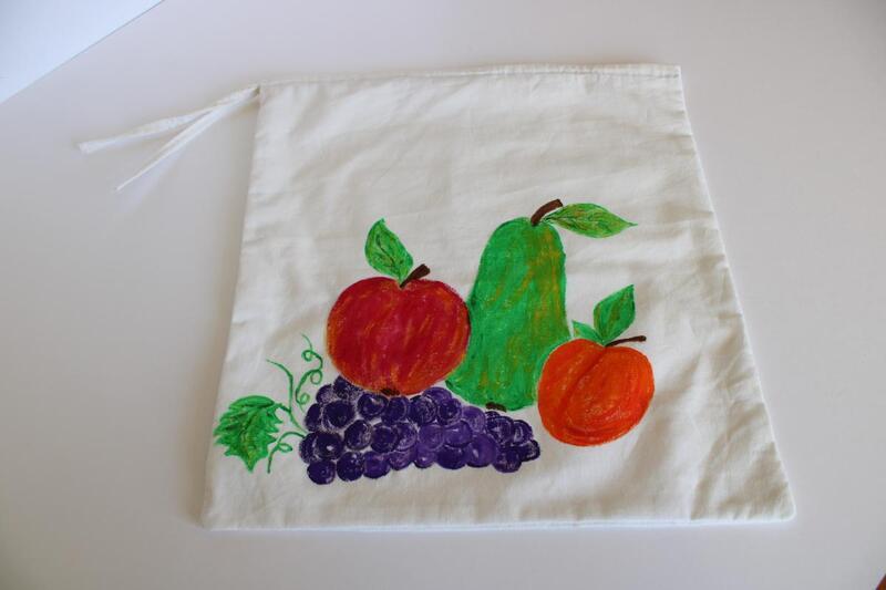 Nákupní sáček na ovoce a zeleninu