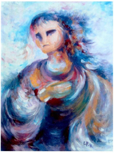 obraz Emy Pok - Máří Magdaléna