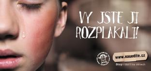 Osvětová kampaň Stop násilí na dětech