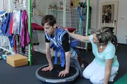 reabilitační pobyt Klim Therapy pro 16letého těžce postiženého syna