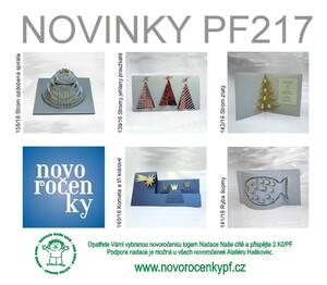 Novoročenky PF 2017 s logem nadace