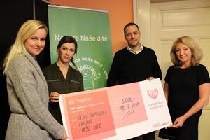 C&A Foundation opět podpoří projekty Nadace Naše dítě