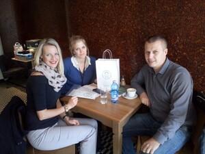 Interoute Czech s.r.o. nám předal výtěžek ze zaměstnanecké snídaně
