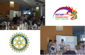 Rotary Dragon Boat Charity Chalenge 2017