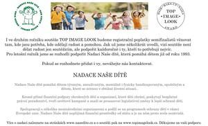 TOP IMAGE LOOK 2017 ve spolupráci s nadací