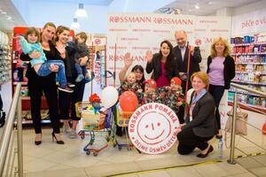 10. ročník projektu Dejme úsměv dětem společnosti ROSSMANN a Nadace Naše dítě je slavnostně zahájen!