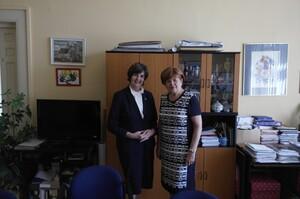 Kanadská velvyslankyně nás poctila svou návštěvou