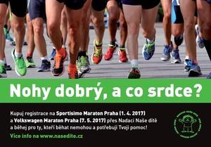 REGISTRACE na Maraton Praha a na 1/2 Maraton Praha - Běž pro dobrou věc