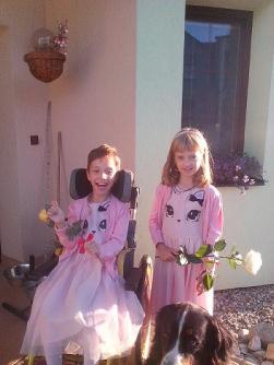 rehabilitační pobyt Klim - Therapy pro 10letou postiženou dceru