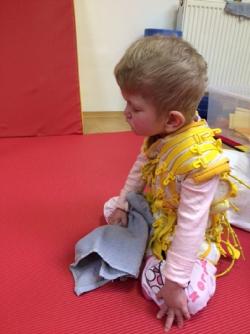 neurorehabilitace pro čtyřletou těžce postiženou dceru Terezku